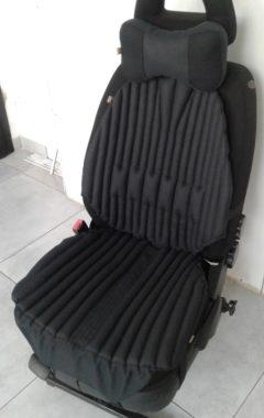 черная ортопедическая подушка