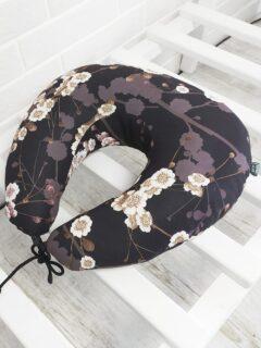 подушка под шею рогалик дорожная